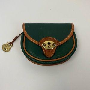 Dooney & Bourke Vintage Fir Green Calvary Belt Bag